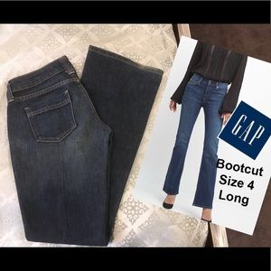Bootcut Low rise jeans